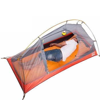 Naturehike ultralight Колоездене раница ultralight палатка 20d с/210T и за 1 човек NH18A095-Д
